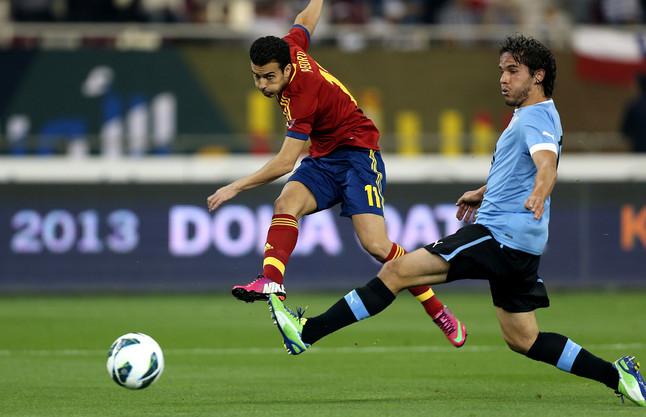 España 3 - Uruguay 1 (06-02-13) Partido amistoso