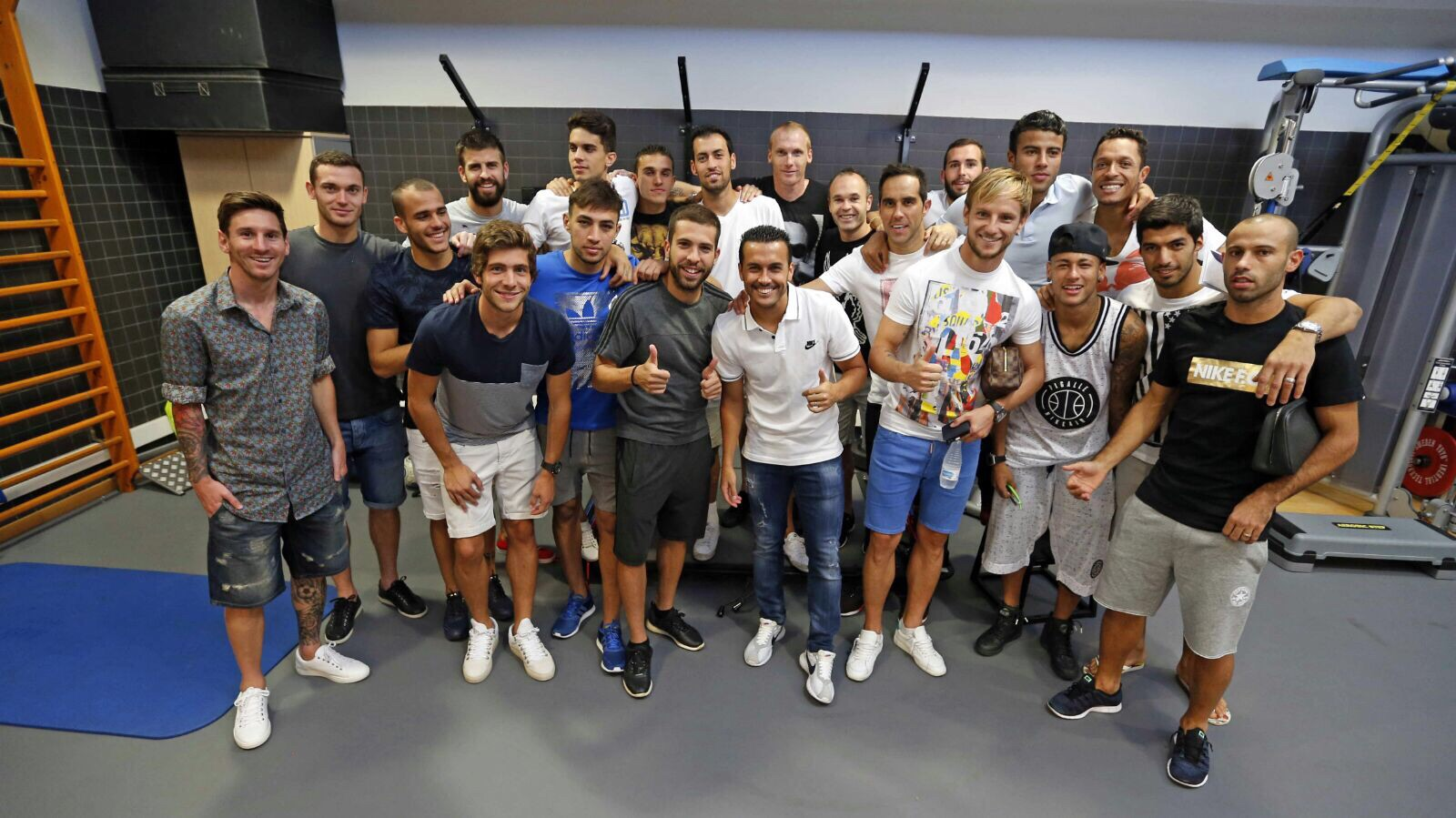 Farewell Press conference at San Joan Despí Training Ground (25-08-15)
