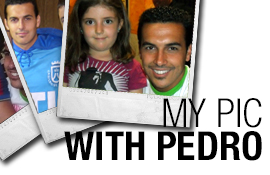 Upload here your personal pic with Pedro