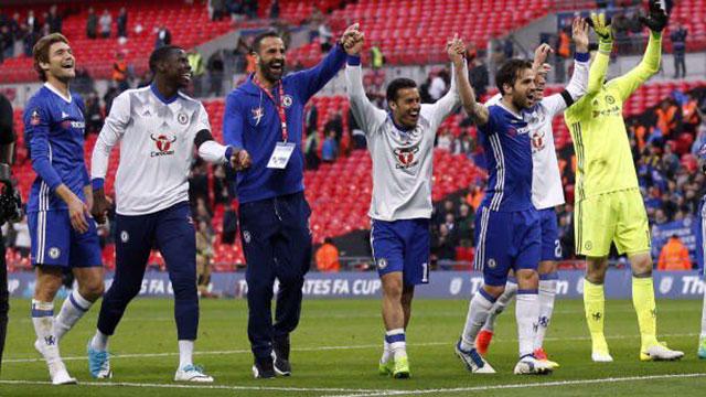 El Chelsea se abona a Wembley en la F.A. Cup (4-2)