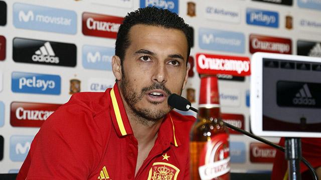 Pedro, con La Roja ante Colombia y Macedonia