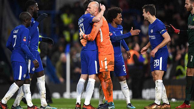 Avance en la FA Cup por la tanda de penaltis (1-5 / 1-3)