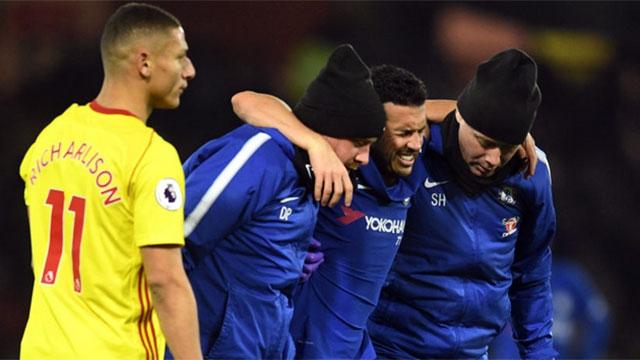 Ten-man Blues slip to defeat away to Watford (4-1)