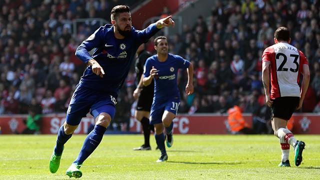 Fulminante remontada de los Blues en Southampton (2-3)