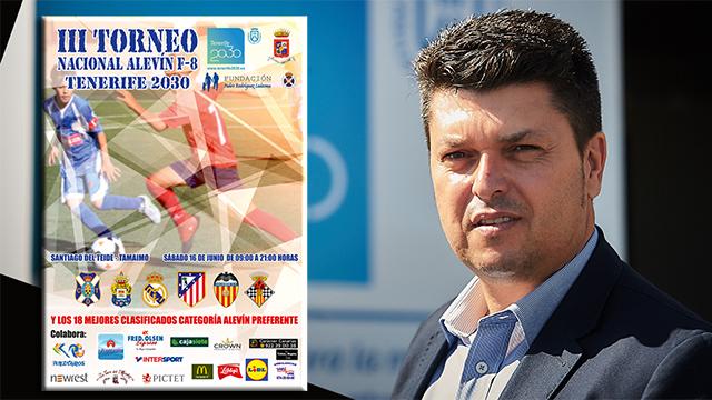 El III Torneo Nacional Alevín de Fútbol-8 Tenerife 2030 reunirá a los mejores equipos nacionales e insulares
