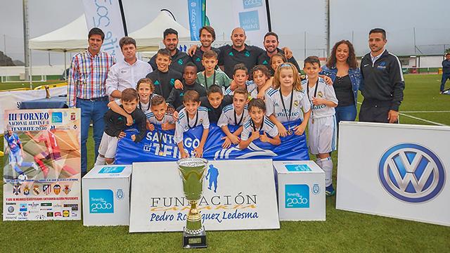 Fútbol y solidaridad en el III Torneo Nacional Alevín