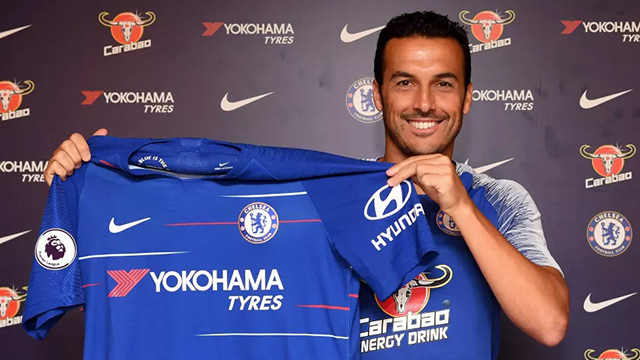 Pedro extends contratc with Blues until 2020