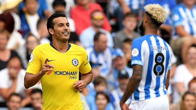 Pedro on the scoresheet a Blues win Premier League opener (0-3)