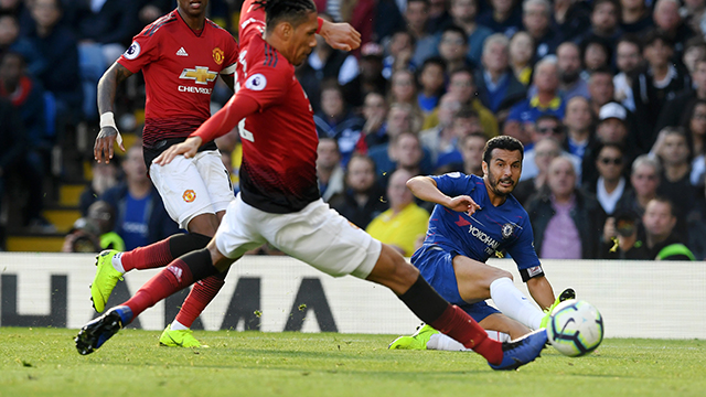 Last-gap point for Blues in Premier League Clasico (2-2)
