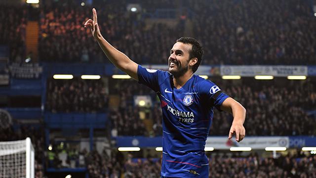 Pedro brilla en la victoria 'blue' sobre el Palace (3-1)