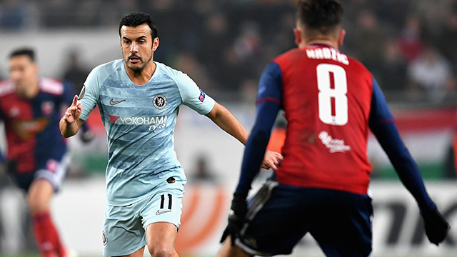 Blues end Europa League group stage on top  (2-2)