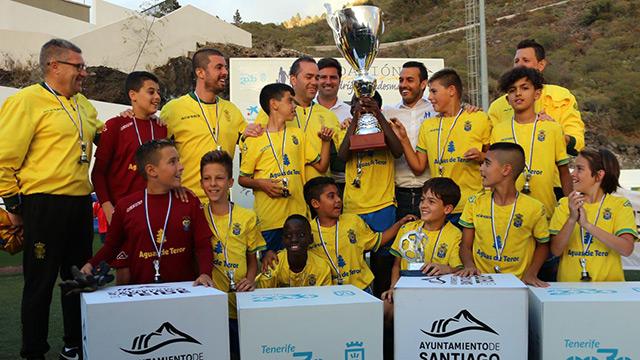La UD Las palmas gana el IV Torneo Internacional Alevín
