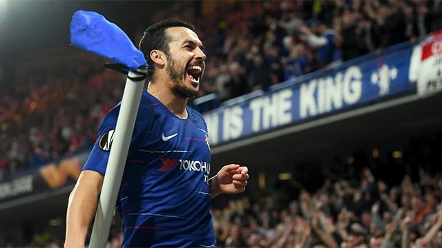 Un gol de Pedro, candidato al mejor de la temporada