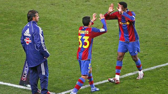 Pedro celebra los 12 años de su debut en Primera