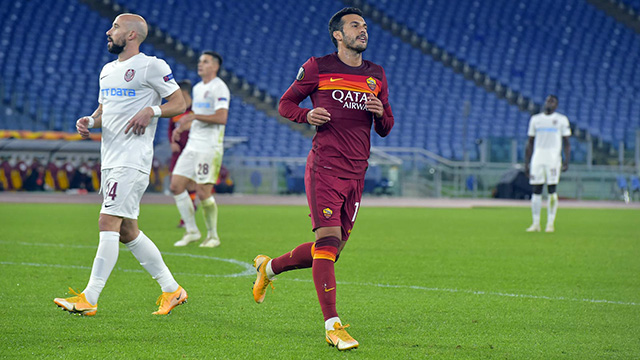 Pedro scores also in Europe as Roma trash Cluj (5-0)