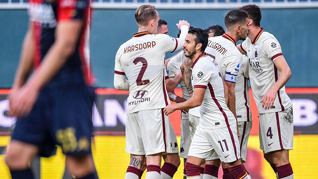 Roma move up to third spot after away win to Genoa (1-3)
