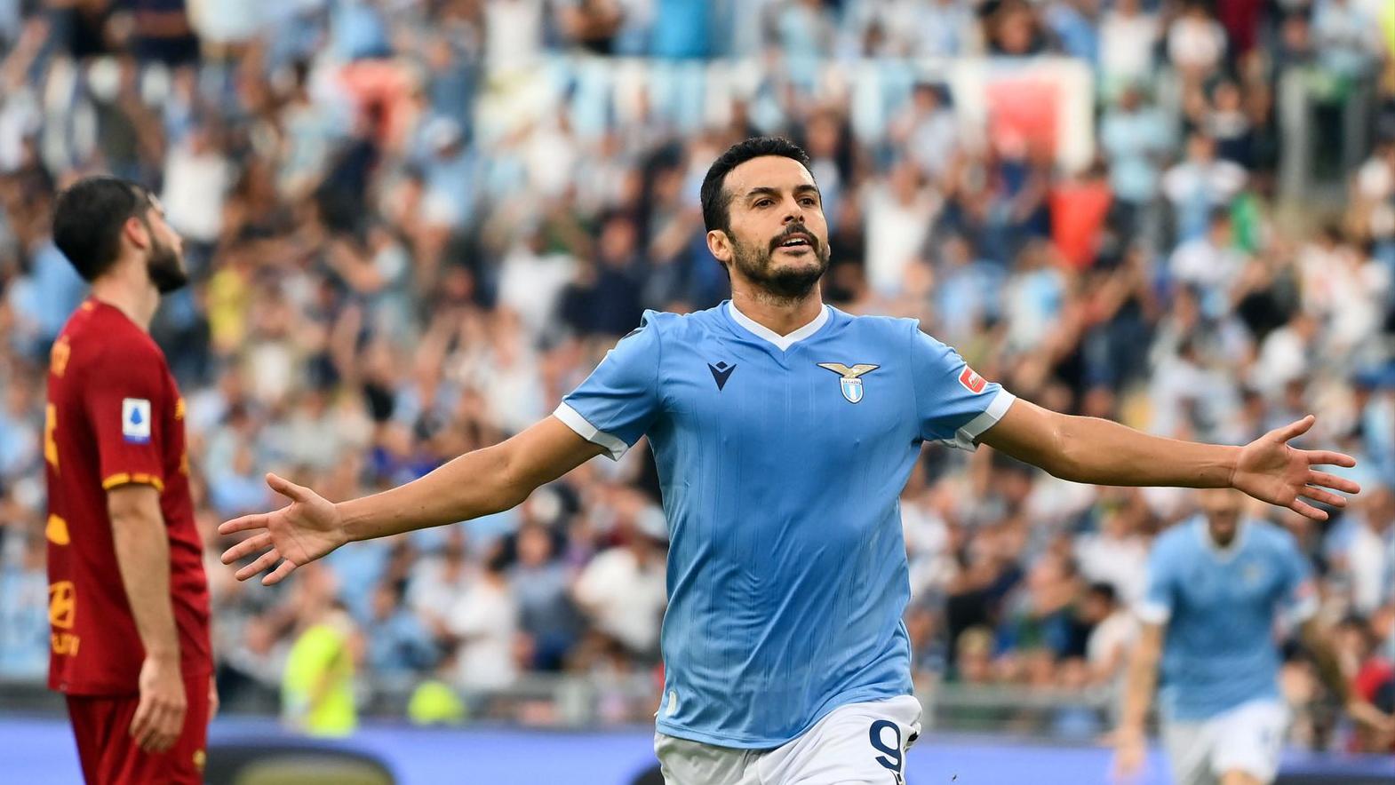 Pedro scores first goal for Lazio in big derby win (3-2)