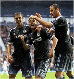 Pedro debutó con el Chelsea en la Premier League con gol y victoria